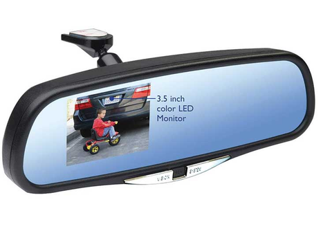 K-Source BACK UP CAMERA AND MONITOR SYSTEM WITH 3.5IN DISPLAY - Auto-Truck-Accessories  - 1
