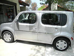 NISSAN CUBE protective polished door side molding. Looks great, saves from dings - Auto-Truck-Accessories  - 2