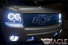 2007-2013 Chevy Avalanche PLASMA Fog Light Halo Kit by Oracle