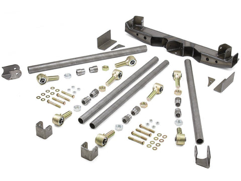 Jeep 4 Link Rear Dbl Triangulated Suspension Kit Adj Link Ends GenRight - Auto-Truck-Accessories