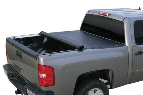 07-13 Chevy/Gmc Silverado/Sierra 5 8' Bed Lock And Roll Up Tonneau Cover RT030
