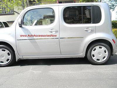 NISSAN CUBE protective polished door side molding. Looks great, saves from dings - Auto-Truck-Accessories  - 1
