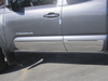 "QAA PART  TH16173 fits TACOMA 2016-2017 TOYOTA (4 Pc: SS Rocker Panel Body Accent Trim, 8"" - 8.375"" tapered width - Full Kit: Bottom of the molding to the bottom of the door, Access Cab, 5' Bed) TH16173"