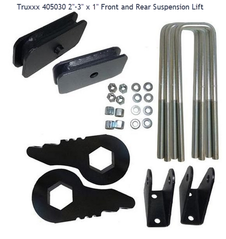Traxda 3In Lift Kit #405030 1500Hd/2500/3500 4X2 And 4X4 (Torsion Bar)