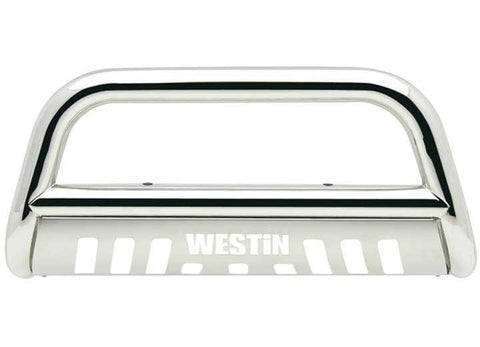 Westin E-Series Bull Bar, Polished Stainless Steel 3 Inch Diameter