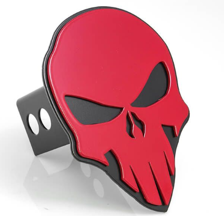 AMI Styling Skull Style Hitch Cover
