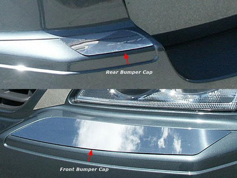 QAA PART  BC47750 fits PACIFICA 2007-2008 CHRYSLER (4 Pc: Stainless Steel Bumper Trim, 4-door) BC47750