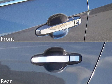 QAA PART  DH12132 fits CAMRY 2012-2014 TOYOTA (8 Pc: Stainless Steel Door Handle Trim w/ smart key access, 4-door) DH12132
