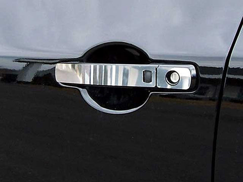 QAA PART  DH27540 fits ALTIMA 2007-2012 NISSAN (8 Pc: Stainless Steel Door Handle Trim, 4-door) DH27540