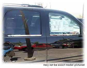 Stainless Steel Window Sill covers for Chevy, Silverado, Tahoe - Auto-Truck-Accessories  - 1