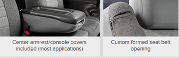 Copy of OEM Fia front seat covers for 2007 to 2013 Chevy Avalanche - Auto-Truck-Accessories  - 1