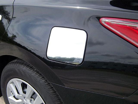 QAA PART  GC13550 fits ALTIMA 2013-2015 NISSAN (1 Pc: Stainless Steel Fuel/Gas Door Cover Accent Trim, 4-door) GC13550