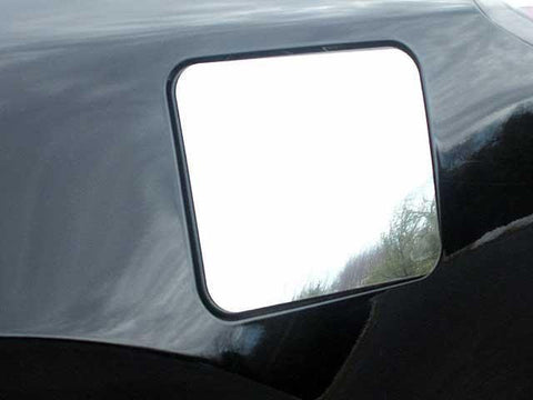 QAA PART  GC22550 fits ALTIMA 2002-2006 NISSAN (1 Pc: Stainless Steel Fuel/Gas Door Cover Accent Trim, 4-door) GC22550