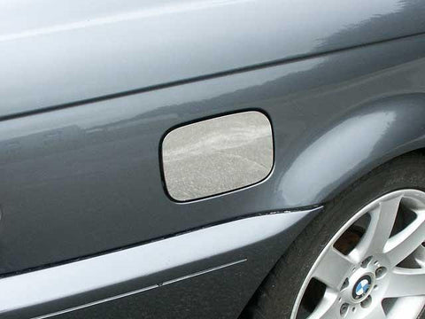 QAA PART  GC25900 fits 3 SERIES 2000-2005 BMW (1 Pc: Stainless Steel Fuel/Gas Door Cover Accent Trim, 2-door, 325i Coupe) GC25900