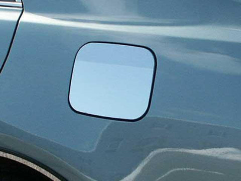 QAA PART  GC27130 fits CAMRY 2007-2010 TOYOTA (1 Pc: Stainless Steel Fuel/Gas Door Cover Accent Trim, 4-door) GC27130