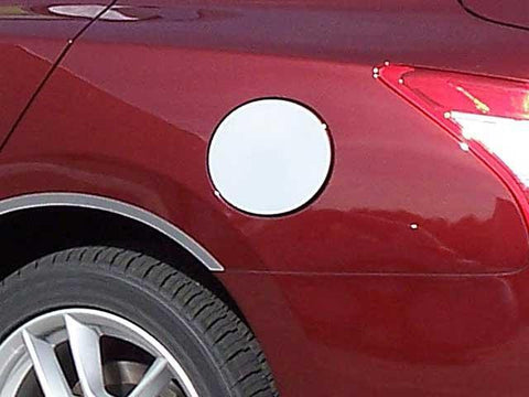 QAA PART  GC29540 fits MAXIMA 2009-2014 NISSAN (1 Pc: Stainless Steel Fuel/Gas Door Cover Accent Trim, 4-door) GC29540