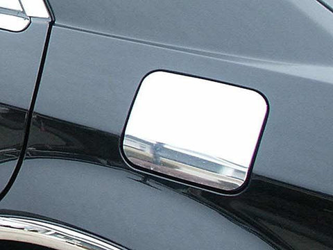 QAA PART  GC45760 fits MAGNUM 2005-2008 CHRYSLER (1 Pc: Stainless Steel Fuel/Gas Door Cover Accent Trim, 4-door, Base, C-Model) GC45760