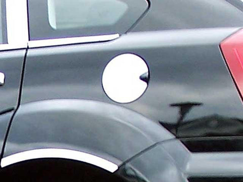 QAA PART  GC47950 fits CALIBER 2007-2012 DODGE (1 Pc: Stainless Steel Fuel/Gas Door Cover Accent Trim, 4-door) GC47950