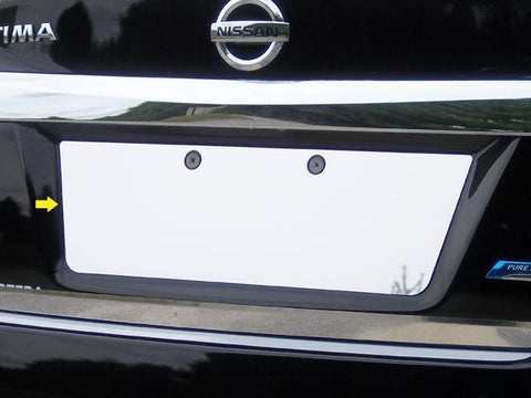 QAA PART  LP13550 fits ALTIMA 2013-2015 NISSAN (1 Pc: Stainless Steel License Plate Bezel, 4-door) LP13550