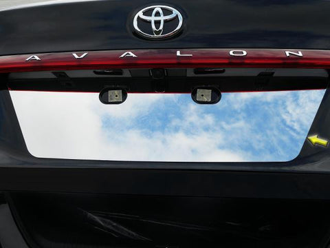 QAA PART LP19165 fits AVALON 2019 TOYOTA (1 Pc: Stainless Steel License Plate Bezel, 4-door) LP19165