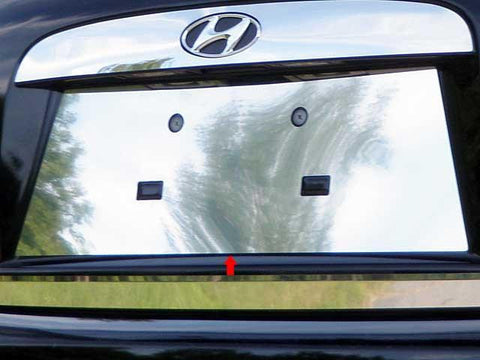 QAA PART  LP27365 fits ACCENT 2006-2011 HYUNDAI (1 Pc: Stainless Steel License Plate Bezel, 4-door) LP27365