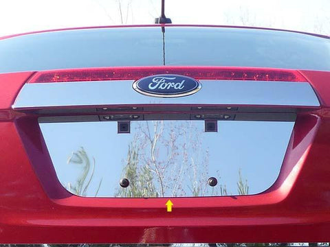 QAA PART  LP50390 fits FUSION 2010-2012 FORD (1 Pc: Stainless Steel License Plate Bezel, 4-door) LP50390