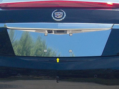 QAA PART  LP53245 fits XTS 2013-2017 CADILLAC (1 Pc: Stainless Steel License Plate Bezel, 4-door) LP53245
