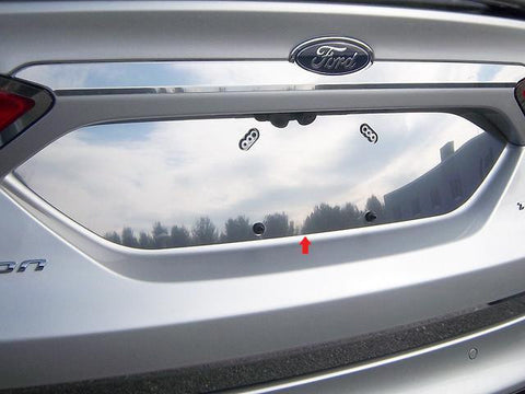QAA PART  LP53390 fits FUSION 2013-2018 FORD (1 Pc: Stainless Steel License Plate Bezel, 4-door) LP53390