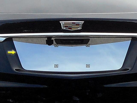 QAA PART  LP57260 fits XT5 2017-2019 CADILLAC (1 Pc: Stainless Steel License Plate Bezel, 4-door, SUV) LP57260