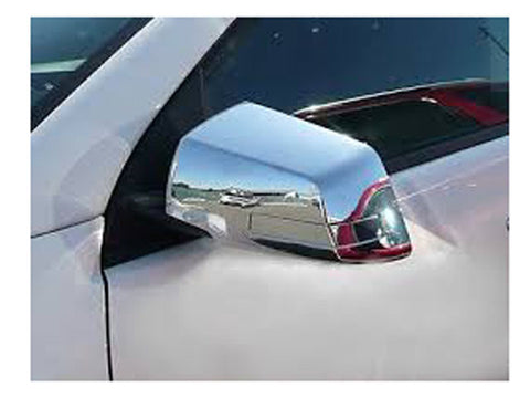 QAA PART  MC49165 fits ACADIA 2007-2016 ACADIA LIMITED 2017 GMC & TRAVERSE 2007-2017 CHEVROLET (4 Pc: ABS Plastic Mirror Cover set (w/ or NO turn signal cut out), 4-door, SUV) MC49165
