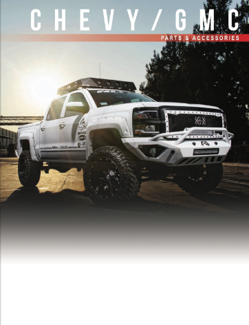 Free 92 page catalog of parts and accessories for Chevy Chevrolet and GMC cars and trucks