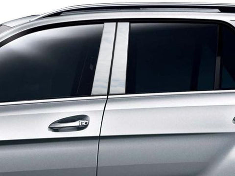 QAA PART  PP12065 fits GLE 2016-2018 MERCEDES (4 Pc: Stainless Steel Pillar Post Trim Kit , 4-door, SUV) PP12065
