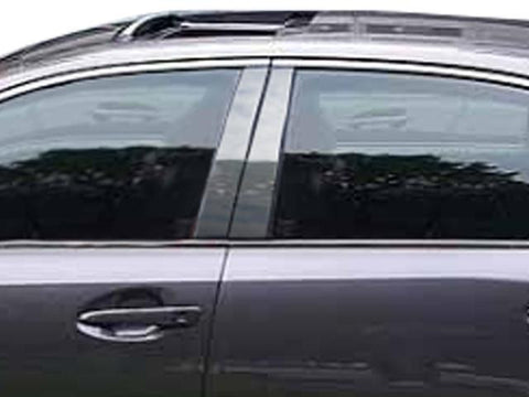QAA PART  PP13108 fits GS 2013-2018 LEXUS (4 Pc: Stainless Steel Pillar Post Trim Kit, 4-door) PP13108