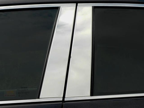 QAA PART PP19165 fits AVALON 2019 TOYOTA (4 Pc: Stainless Steel Pillar Post Trim Kit, 4-door) PP19165