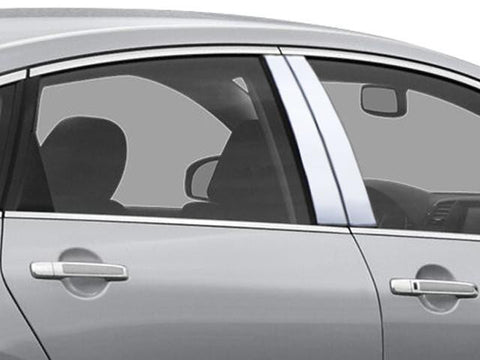QAA PART  PP26058 fits M-SERIES 2006-2010 INFINITI (4 Pc: Stainless Steel Pillar Post Trim Kit, 4-door) PP26058