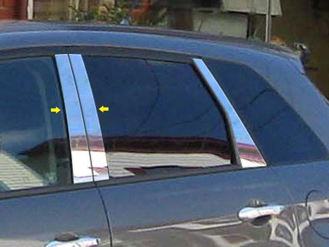 QAA PART  PP27270 fits RDX 2007-2012 ACURA (4 Pc: Stainless Steel Pillar Post Trim Kit, 4-door, SUV) PP27270