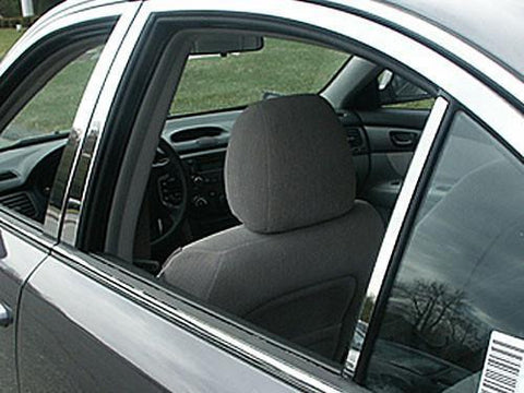 QAA PART  PP27806 fits OPTIMA 2006.5-2010 KIA (6 Pc: Stainless Steel Pillar Post Trim Kit, 4-door) PP27806