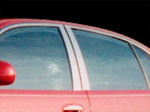 QAA PART  PP37581 fits PARK AVENUE 1997-2005 BUICK 4-door (6 Pc: Stainless Steel Pillar Post Trim) PP37581