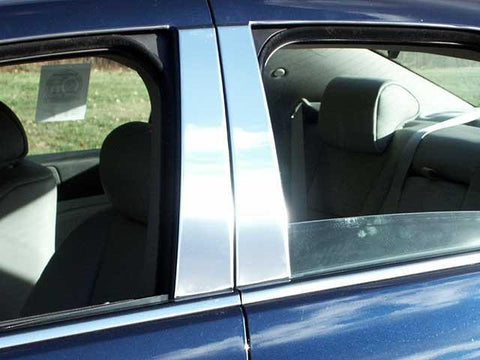 QAA PART  PP45236 fits STS 2005-2011 CADILLAC (4 Pc: Stainless Steel Pillar Post Trim Kit , 4-door) PP45236