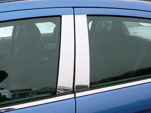 QAA PART  PP47780 fits SEBRING 2007-2010 CHRYSLER (4 Pc: Stainless Steel Pillar Post Trim Kit, 4-door) PP47780