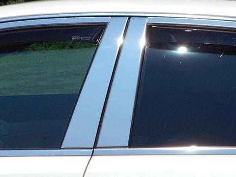 QAA PART  PP48250 fits CTS 2010-2013 CADILLAC (4 Pc: Stainless Steel Pillar Post Trim Kit , 4-door & Sport Wagon) PP48250