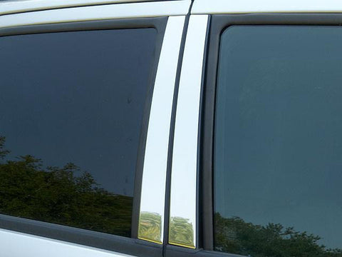 QAA PART  PP48320 fits ESCAPE 2008-2012 FORD (4 Pc: Stainless Steel Pillar Post Trim Kit , 4-door, SUV) PP48320