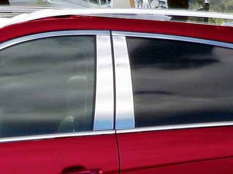 QAA PART  PP50260 fits SRX 2010-2016 CADILLAC (4 Pc: Stainless Steel Pillar Post Trim Kit , 4-door, SUV) PP50260