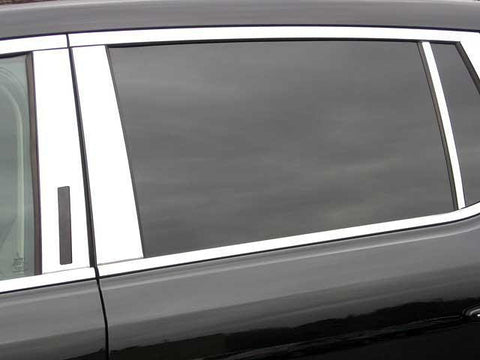 QAA PART  PP50671 fits MKT 2010-2018 LINCOLN (6 Pc: Stainless Steel Pillar Post Trim Kit , 4-door, CROSSOVER SUV) PP50671
