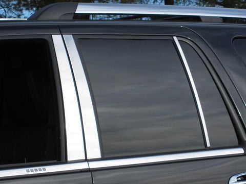 QAA PART  PP37384 fits NAVIGATOR 1998-2014 LINCOLN (6 Pc: Stainless Steel Pillar Post Trim Kit , 4-door, SUV) PP37384