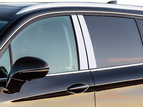 QAA PART PP56580 Fits ENVISION 2016-2017 BUICK (4 Pc: Stainless Steel Pillar Post Trim Kit, 4-door, SUV) PP56580
