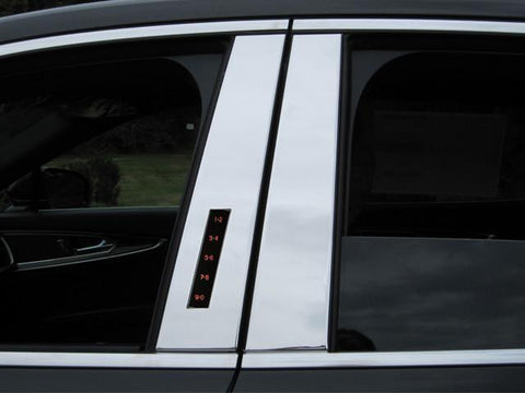 QAA PART  PP56660 fits MKX 2016-2018 LINCOLN (4 Pc: Stainless Steel Pillar Post Trim Kit, 4-door, SUV) PP56660