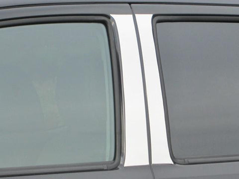 QAA PART  PP16175 fits TACOMA 2016-2017 TOYOTA (4 Pc: Stainless Steel Pillar Post Trim Kit, Double Cab) PP16175