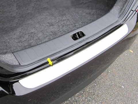 QAA PART  RB12530 fits VERSA 2012-2018 NISSAN (1 pc: Stainless Steel Rear Bumper Accent Trim, 4-door) RB12530