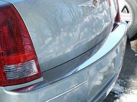 QAA PART  RB45760 fits 300 2005-2010 CHRYSLER (3 Pc: Stainless Steel Rear Bumper Accent Trim, 4-door, Base Model ONLY) RB45760